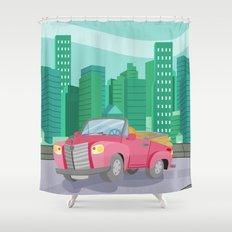 CAR (GROUND VEHICLES) Shower Curtain