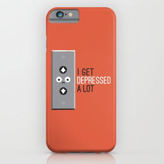 Feeling Down iPhone & iPod Case
