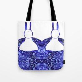 BlueBun Tote Bag