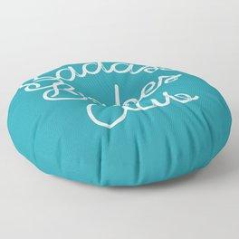 Badass Babes Club Floor Pillow