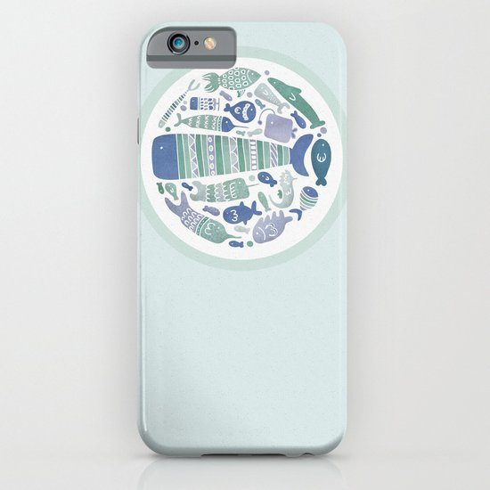 Little Fishes iPhone & iPod Case