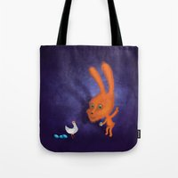 easter Tote Bags featuring easter by Laurel
