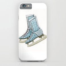 Polka dot ice skates Slim Case iPhone 6s