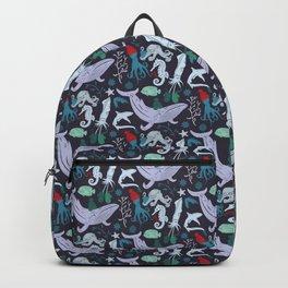 Underwater Christmas Backpack