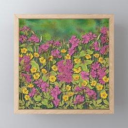Wildflowers at Fox Corner Framed Mini Art Print