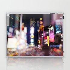 Times Square Blurrr-Bokeh Laptop & iPad Skin