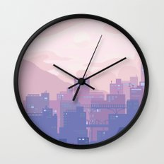 Sleeping City Wall Clock