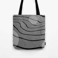 mid century Tote Bags featuring Mid-Century Mod 2 by Patti Toth McCormick