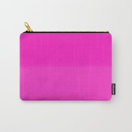 Two-Toned Pink Carry-All Pouch
