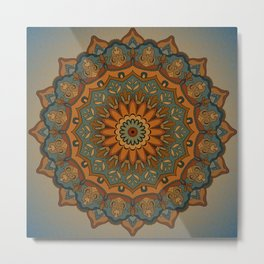 Moroccan sun Metal Print