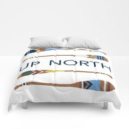 Up North Oars Comforters