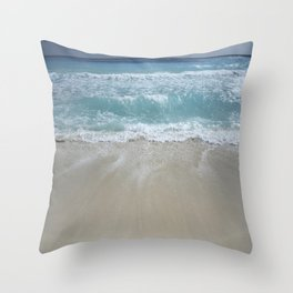 Carribean sea 5 Throw Pillow