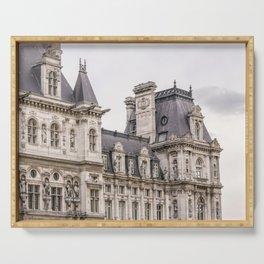 Paris Hotel de Ville Serving Tray
