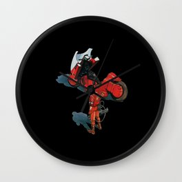Anime Hero Wall Clock