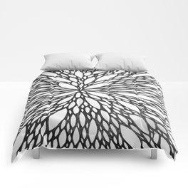 Chrysanthemum Burst Comforters