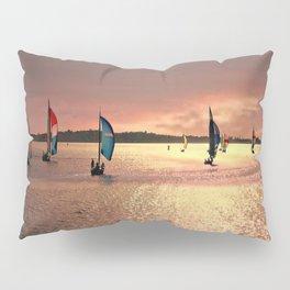 Sunset Sail In Bermuda Pillow Sham