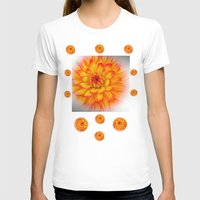 dahlia T-shirts featuring Dahlia by Art-Motiva