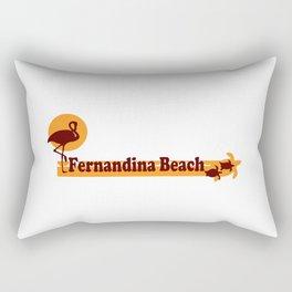 Fernandina Beach - Florida. Rectangular Pillow