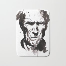 clint face Bath Mat
