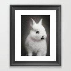 G.W Rabbit Framed Art Print