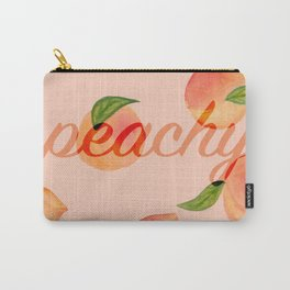 Life is peachy print Carry-All Pouch