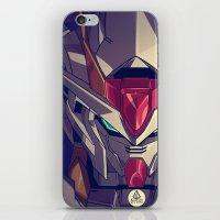 gundam iPhone & iPod Skins featuring Gundam Fan ART by Jaryd Vien Quiray