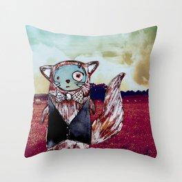 Mr Bixby's Big Adventure Throw Pillow