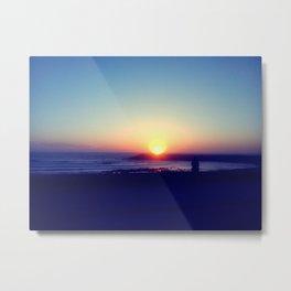 Espinho Sunset #2 Metal Print