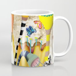 Get up, stand up - Rupydetquila Sunset Butterfies Coffee Mug