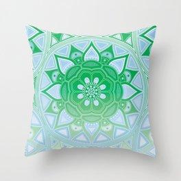 Mandala my new creation XVI Throw Pillow