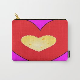 Cheesy Love Carry-All Pouch