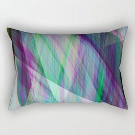 Emerald twist Rectangular Pillow