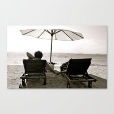 Comfortable Love Canvas Print