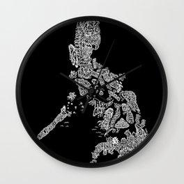 Paranormal Philippines (black) Wall Clock