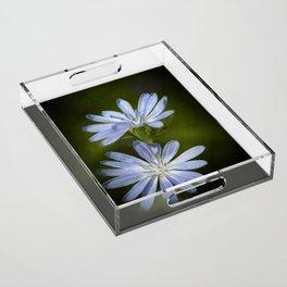 Wild Flowers Acrylic Tray