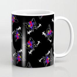 FRANKEN VAMP KITTY pattern Coffee Mug
