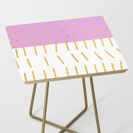 AZTEC BABE - Modern Pink Furniture Side Table