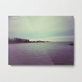 Seasides Metal Print
