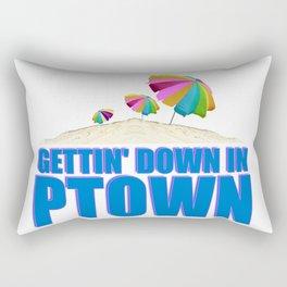 GETTIN' DOWN IN PTOWN Rectangular Pillow