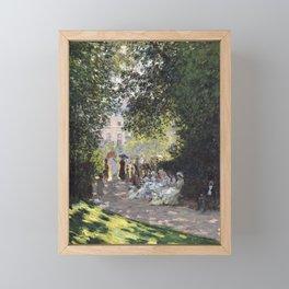 The Parc Monceau Framed Mini Art Print