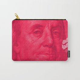 Benjamin (pink) Carry-All Pouch