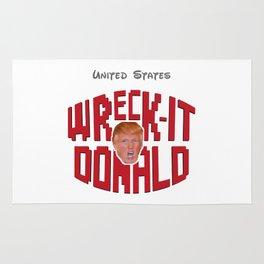 Wreck-it Donald Trump Rug