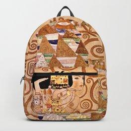 Gustav Klimt-The Expectation Backpack