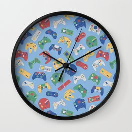 The world of controls colour Wall Clock