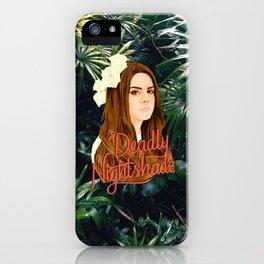 Lana Deadly Nightshade iPhone Case