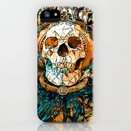 Old Skull iPhone Case