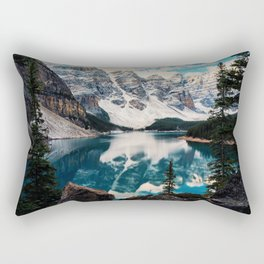 Moraine Lake Rectangular Pillow