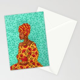 Luisa. Beautiful woman collection Stationery Cards