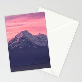 Aoraki Sunset Stationery Cards