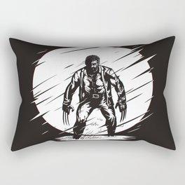 White Logan Rectangular Pillow